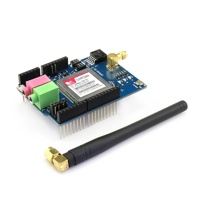3G/GPRS/GSM Shield for Arduino with GPS - American version