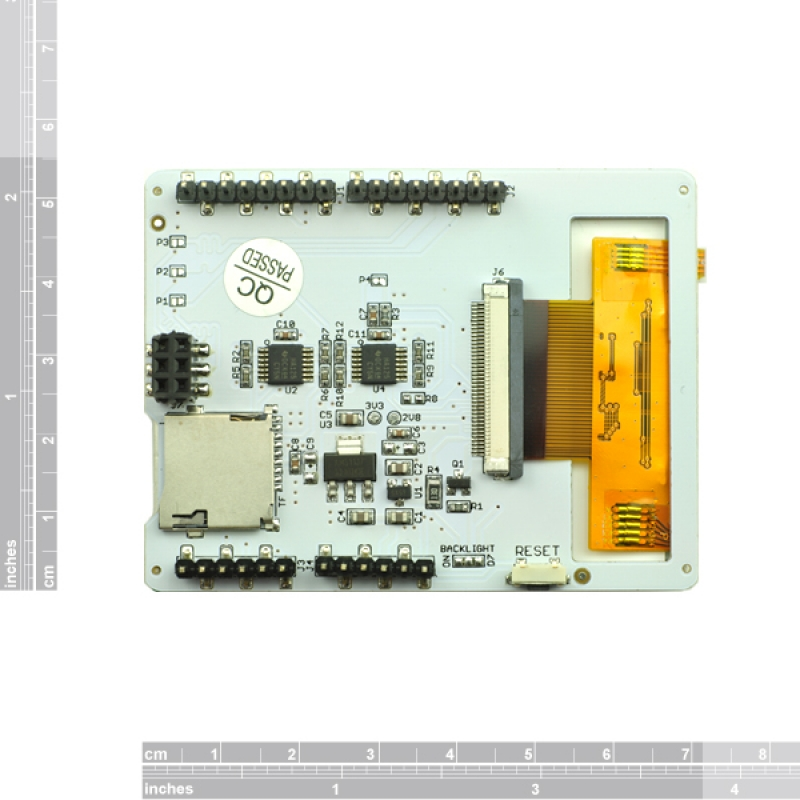 Touch lcd shield for arduino pcduino