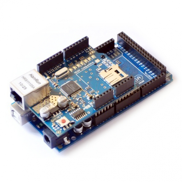 Arduino ethernet shield w