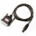 USB To 25 Pin DB25  Parallel Port Cable