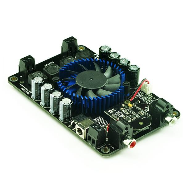 2 x 100w class d bluetooth audio amplifier board tsa7498. Black Bedroom Furniture Sets. Home Design Ideas