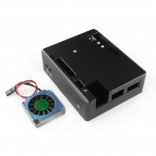 Lattepanda Aluminum Alloy Enclosure with Cooling Fan