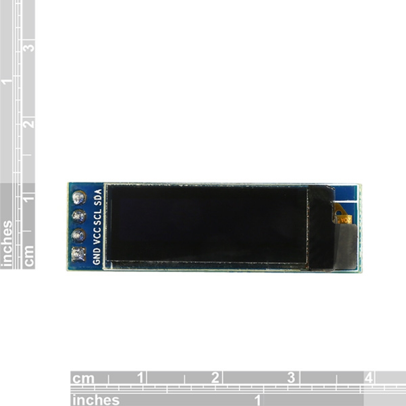 0 91 Quot 128x32 Oled Module White