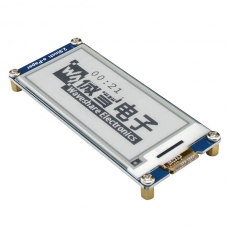 "2.9"" 296x128 E-Ink Display"
