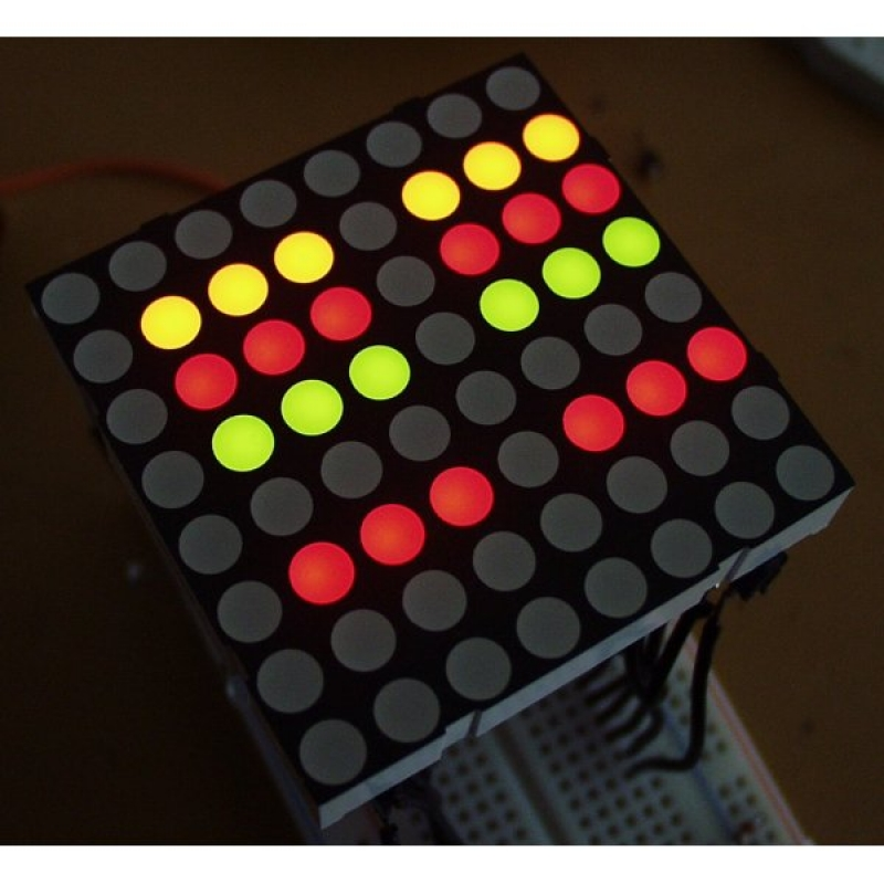 Led Matrix Dual Color Medium