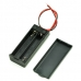 Battery Holder 2xAAA with Cover and Switch