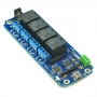 TOSR140 - 4 Channel USB/Wireless 5V Relay - (Password/Momentary/Latching)