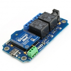 TOSR121 - 2 Channel Smartphone Bluetooth Relay - (Password/Momentary/Latching)