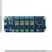 TSTR04 - 4 Channel Outputs 4 Temperature Sensors Bluetooth Smartphone Relay (Thermostats)