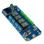 TSTR04 - 4 Channel Outputs 4 Temperature Sensors USB Relay Module (Thermostats)