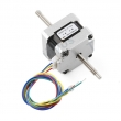 39BYGL215A Stepper Motor - 200 steps/rev, Threaded Shaft
