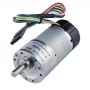 70:1 Metal Gearmotor 37Dx68L mm with 64 CPR Encoder