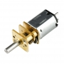 Micro Metal Gearmotor HP 6V with Extended Motor Shaft 1.6A - 100:1