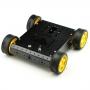 4WD Aluminum Mobile Robot Car Platform