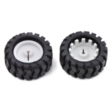 Wheel 42×19mm Pair