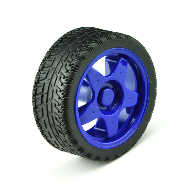 Toy Tires Basic Rubber Wheel 2 Pack