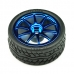 Rubber Wheels 65x26mm (2 Pack)