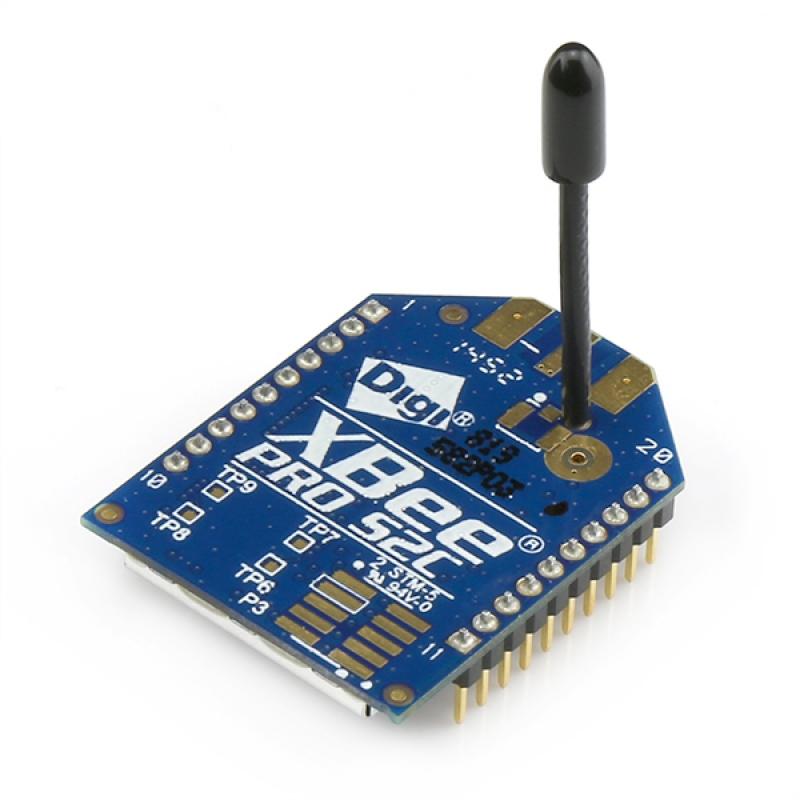 Xbee pro wire antenna series c zigbee mesh s
