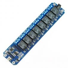 TOSR08 - 8 Channel USB/Wireless 5V Relay Module