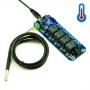 TOSR04-T - 4 Channel Smartphone Relay Bluetooth Remote Control Kit -DS18B20