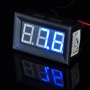 Blue LED Digital Voltmeter DC 3.2V - 30V