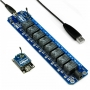 TOSR08 - 8 Channel Relay Xbee Remote Control Kit