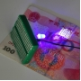 Purple LED -Check Banknote