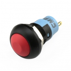 Waterproof Push Button - Panel Mount 12mm