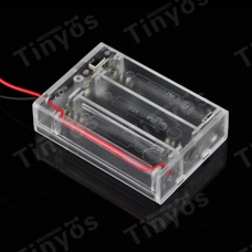 DC 4.5V AA Battery Holder Battery Box With Power Switch