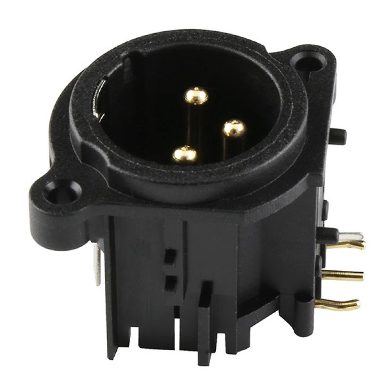 3-pin Male Xlr Connector