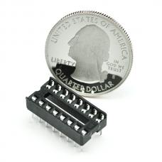DIP Sockets Solder Tail - 16-Pin