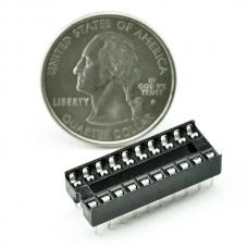 DIP Sockets Solder Tail - 20-Pin