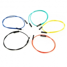 Jumper Wires 20cm M/F Pack of 10