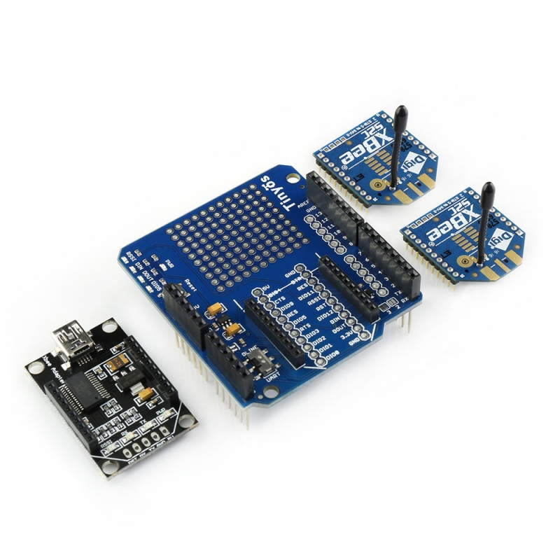 Xbee s c wireless kit for arduino
