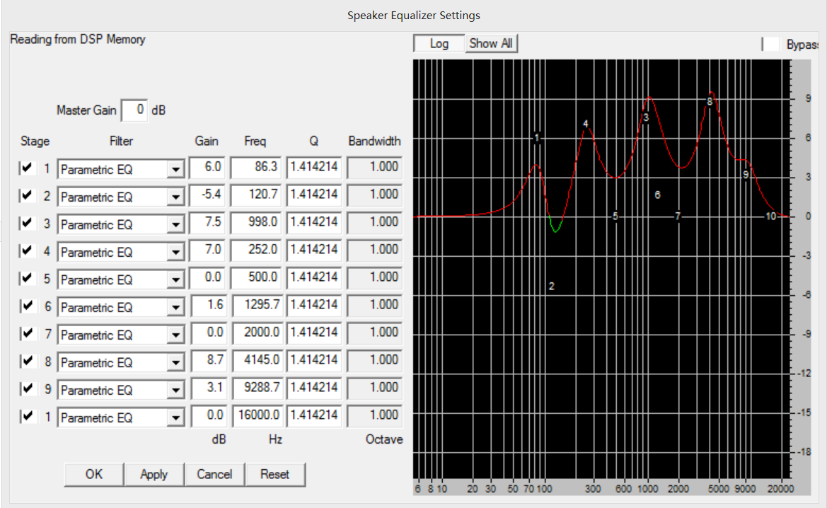 How to Change the Bluetooth Audio Amplifier EQ Settings