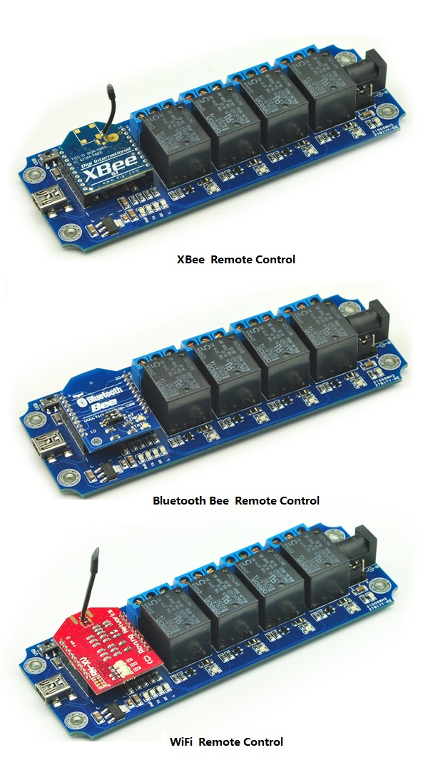 8 Channel USB//Wireless 5V Relay Module Xbee Remote Control Kit